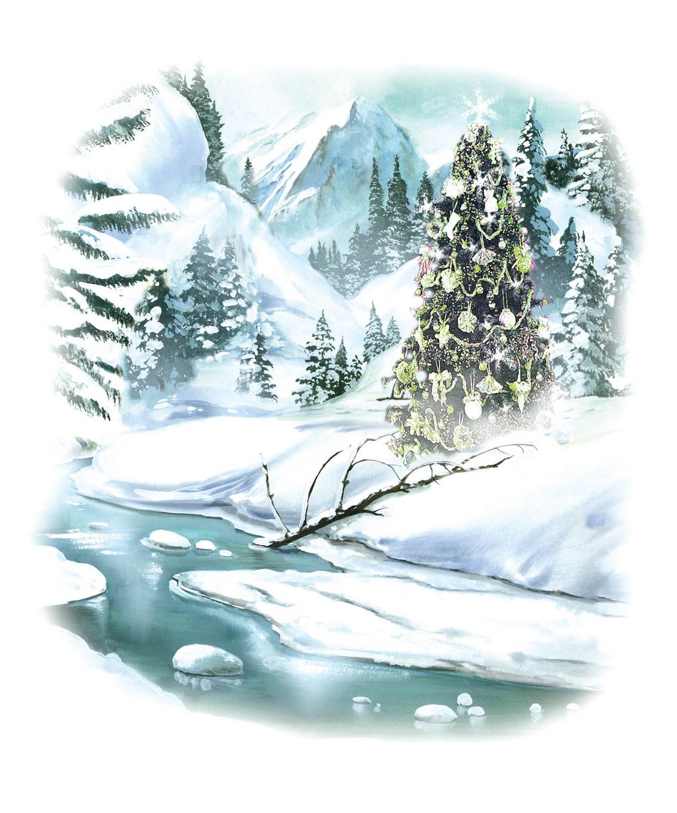 Tree free holiday graphics. Beautiful clipart christmas
