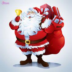 Beautiful clipart christmas. Santa claus wallpaers pinterest