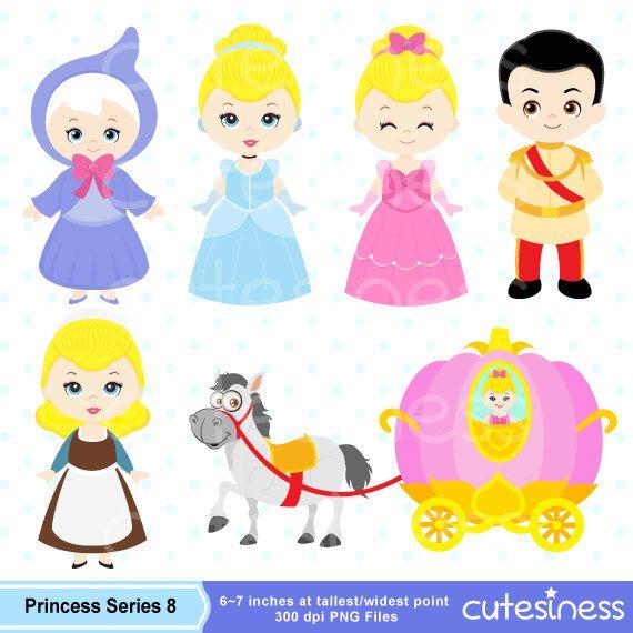 Beautiful clipart cinderella. Digital princess by cutesiness