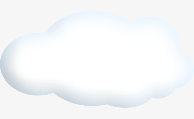 Cartoon clouds png image. Beautiful clipart cloud