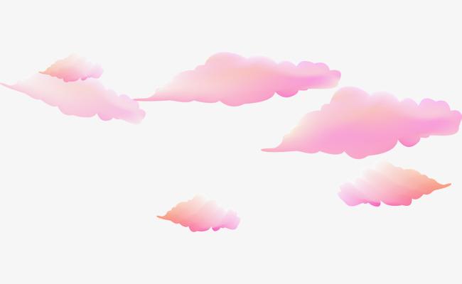 Beautiful clipart cloud. Pink clouds dream png