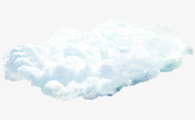 Blue clouds png image. Beautiful clipart cloud