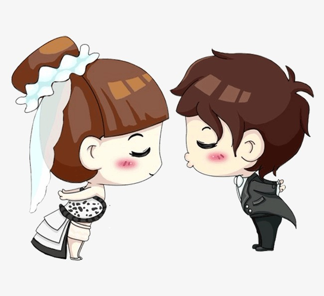 Couple cartoon villain lovely. Beautiful clipart cute