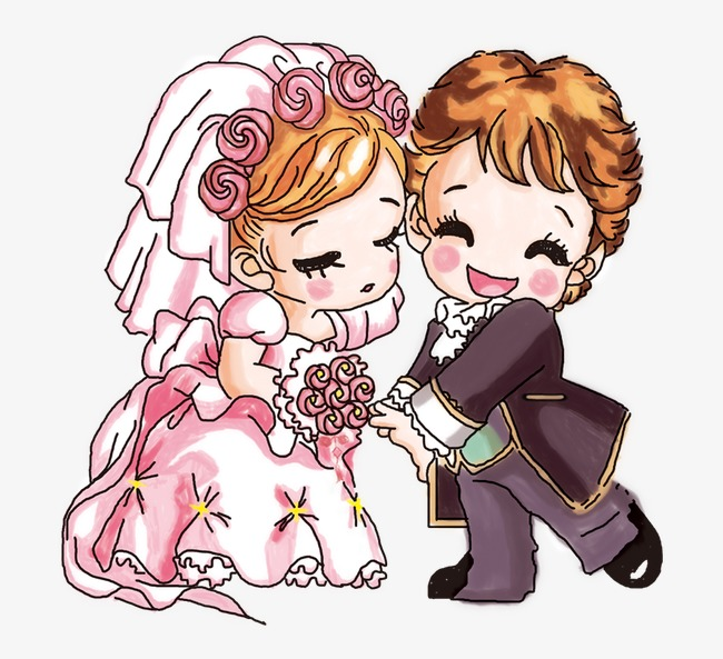 Beautiful clipart cute. Cartoon married couple lovely