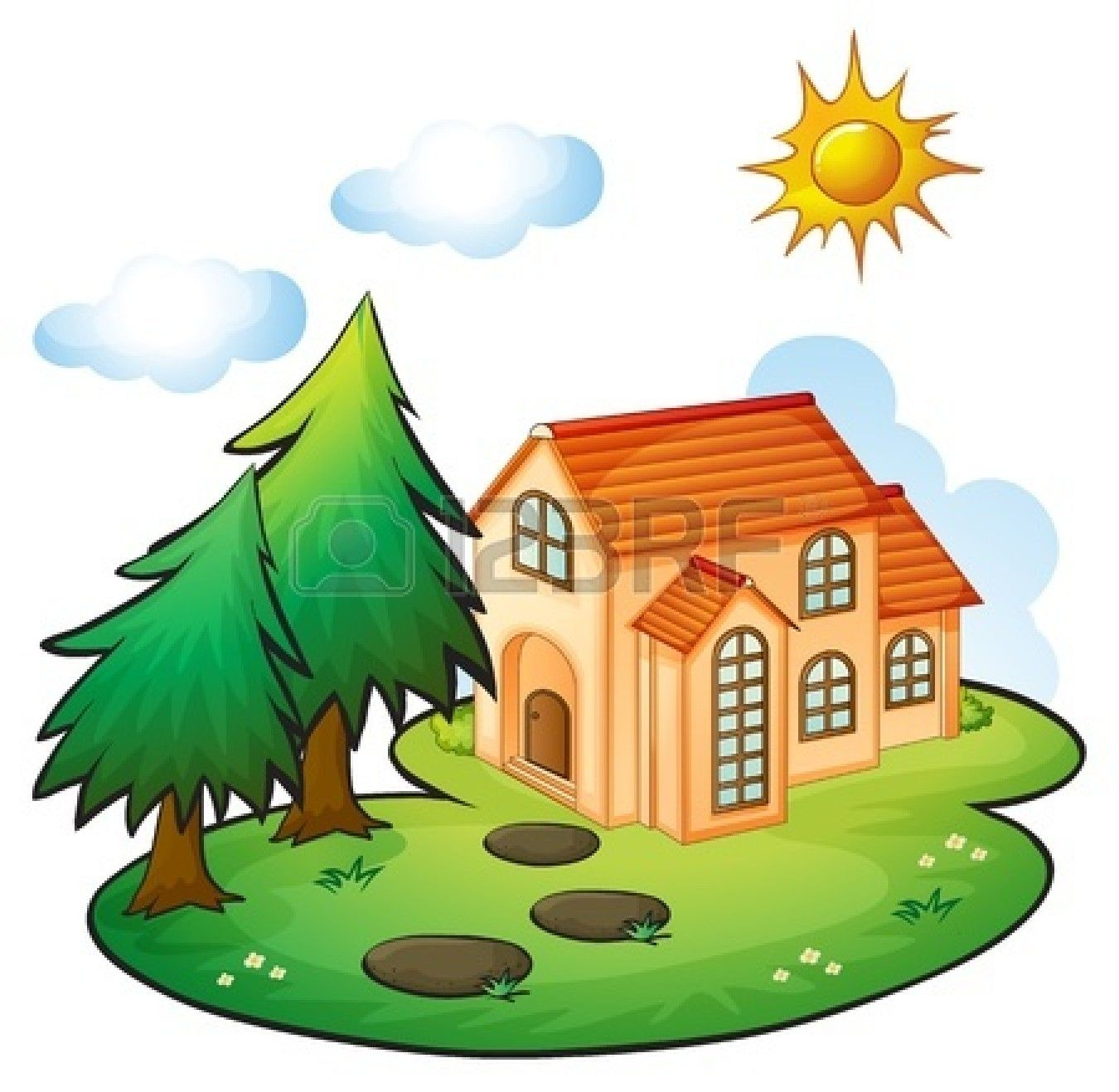 Beautiful clipart cute. House google search vintage