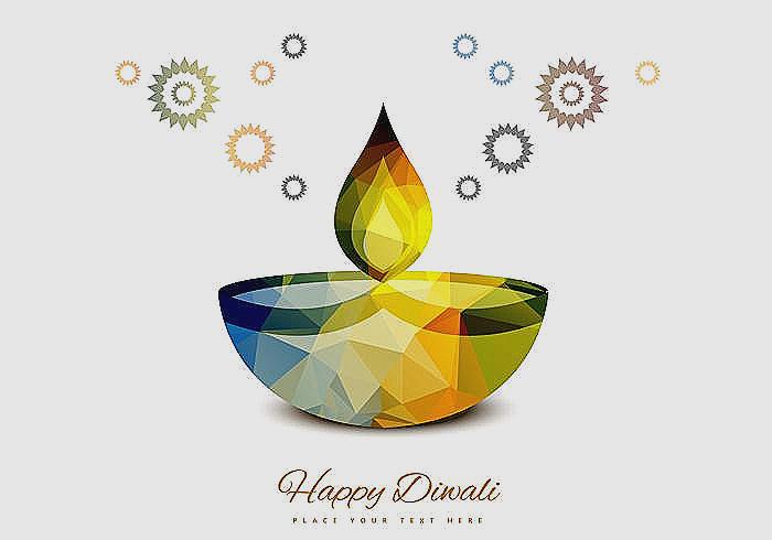 Beautiful clipart diwali. Deepavali lamp lampe color
