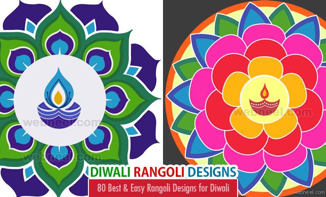 Traditional rangoli . Beautiful clipart diwali