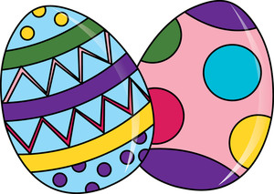 Free eggs image clip. Beautiful clipart easter egg