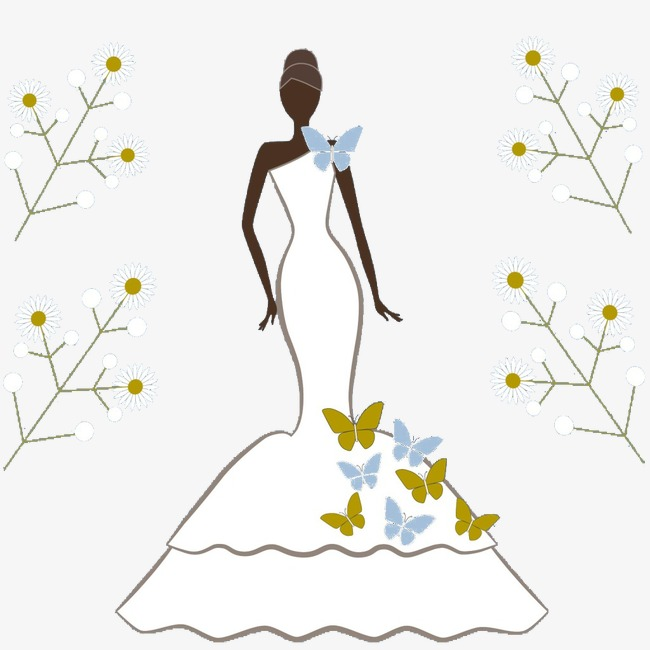 Beautiful clipart evening gown. Beauty exquisite models people