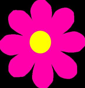 Beautiful clipart flower. Pretty pink clip art