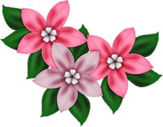 Pink decor png flowers. Beautiful clipart flower