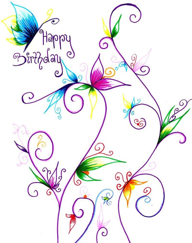 Beautiful clipart happy birthday. Butterfly images ashleigh