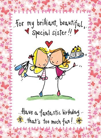 Sister best wishes ddafefdfcehappy. Beautiful clipart happy birthday
