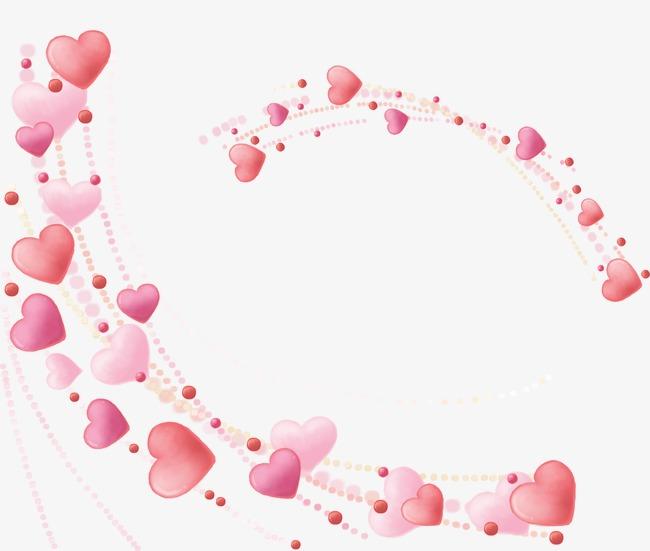 Love shaped frame fine. Beautiful clipart heart