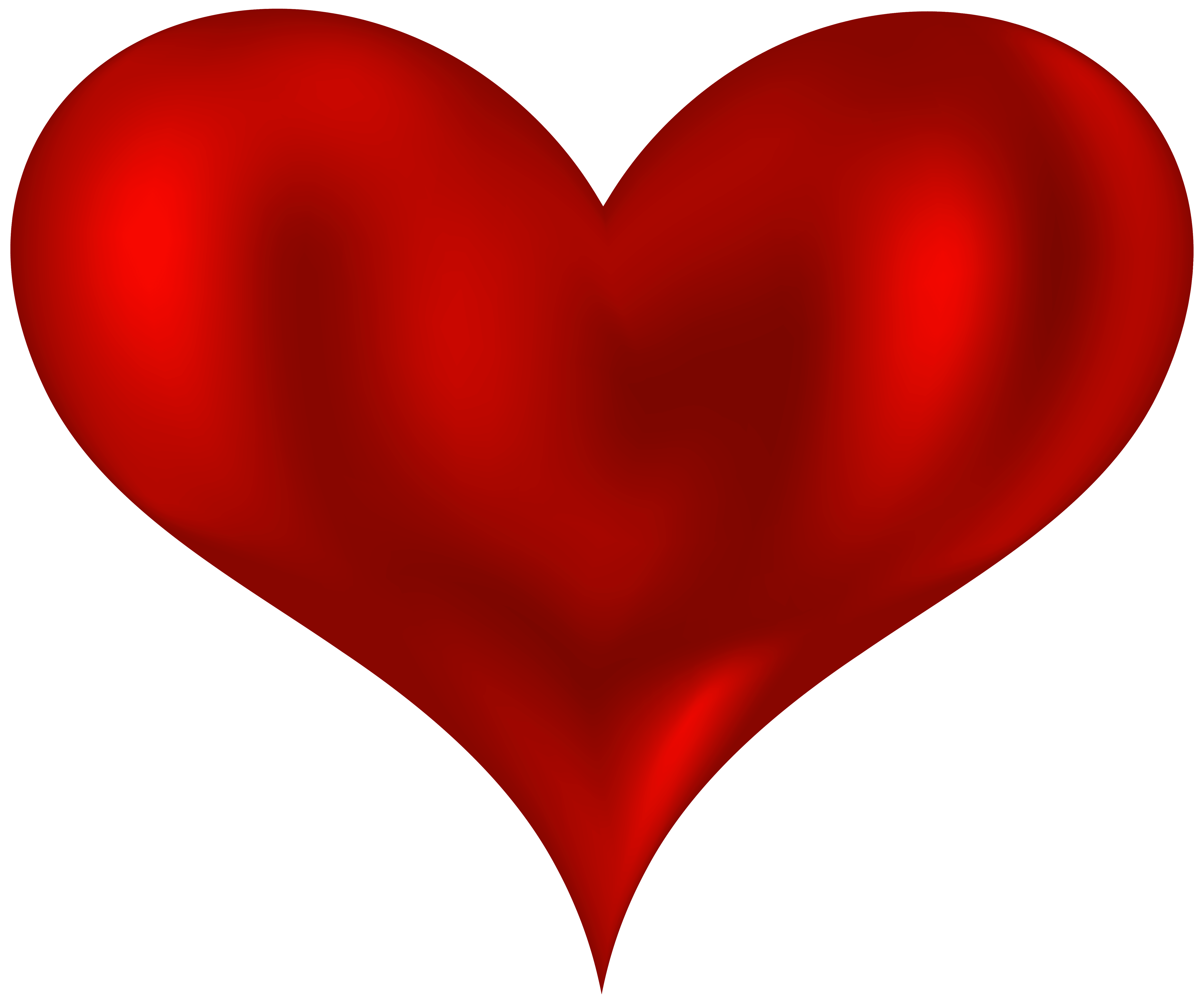 Beautiful heart png . Heartbeat clipart red