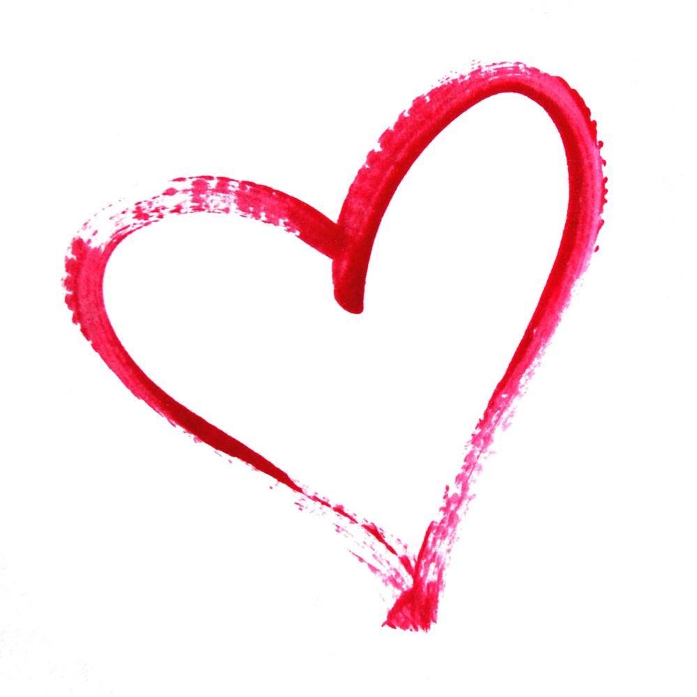 Free beautiful heart cliparts. Hearts clipart paint