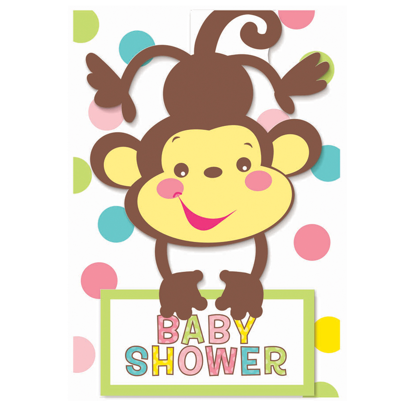 Beautiful clipart monkey. Contemporary design baby shower