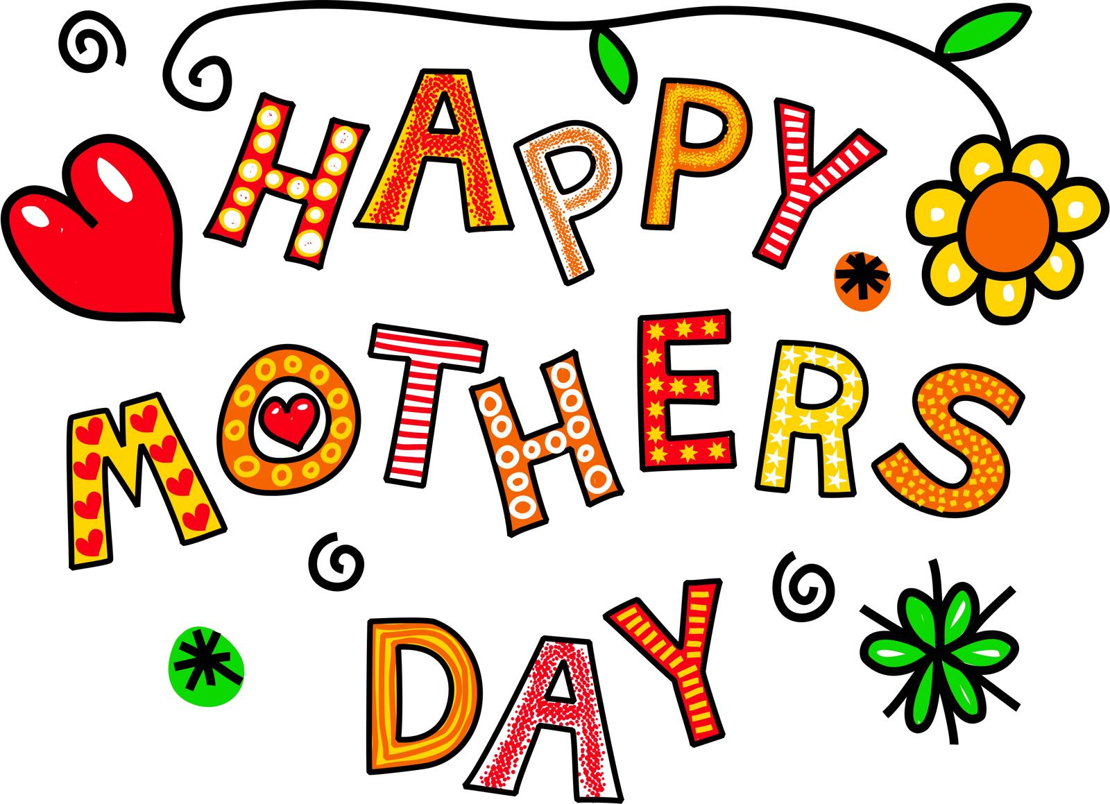 Words clipart mothers day. Happy free download best