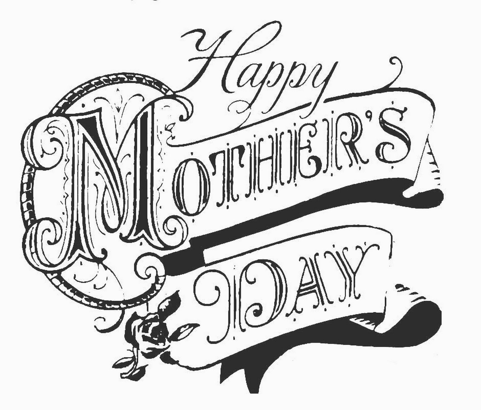 Beautiful clipart mothers day. Pictures to draw mothersday