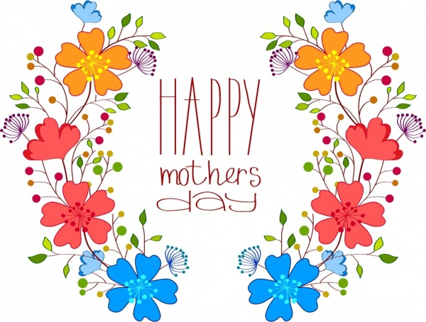 Mother free vector download. Beautiful clipart mothers day