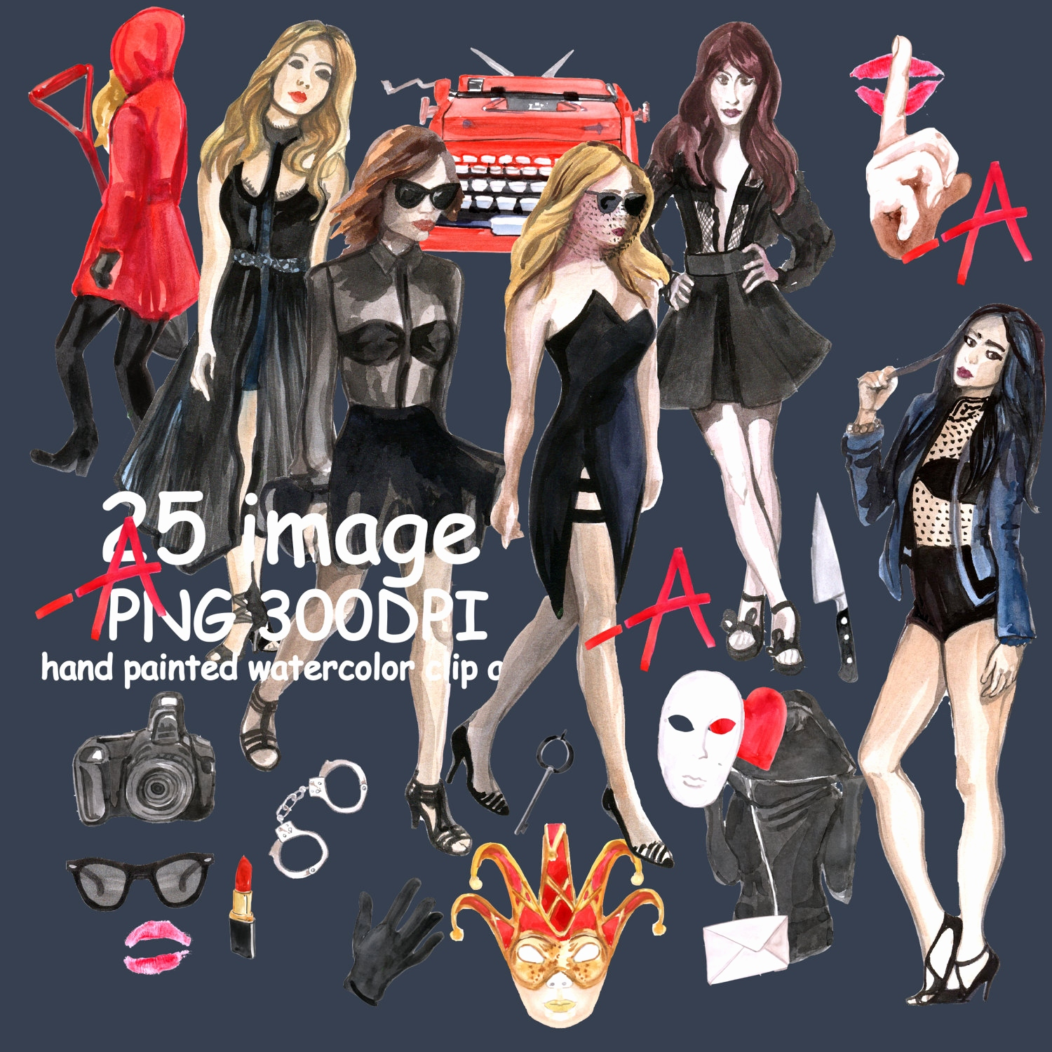 Beautiful clipart pretty. Little liars outfits weatercolor