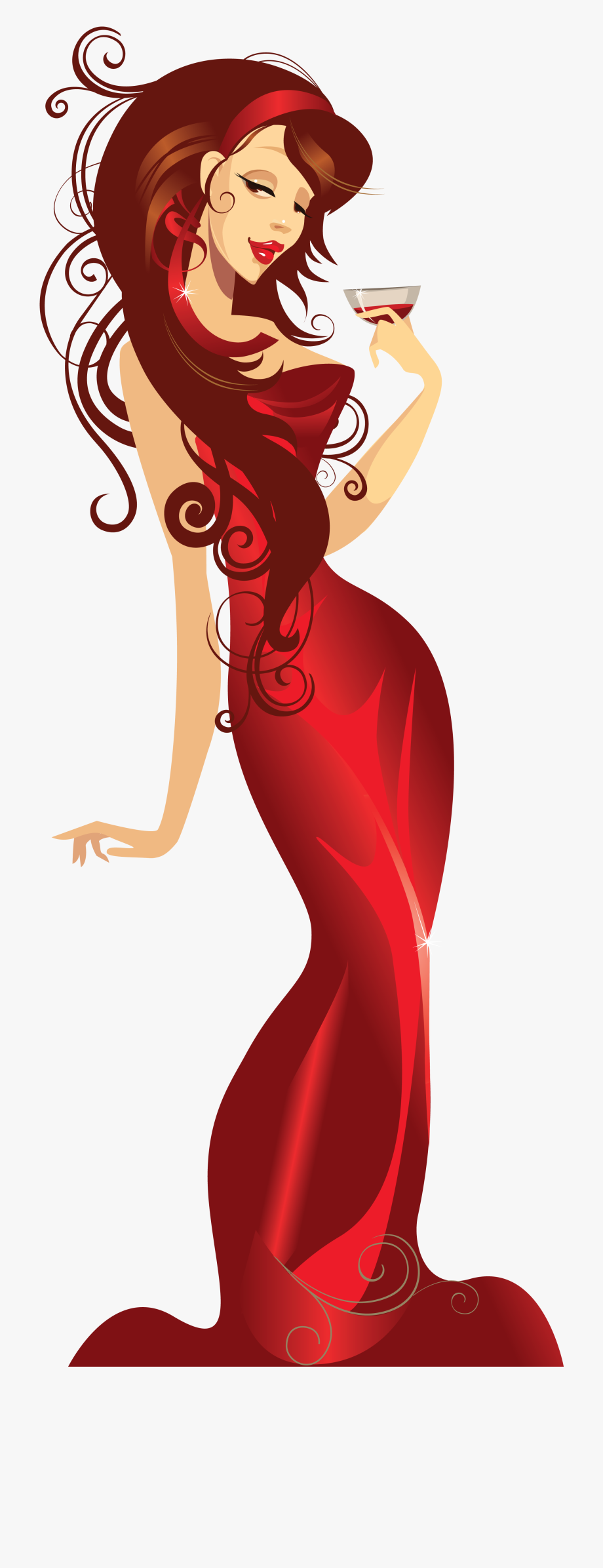 Birthday for ladies download. Beautiful clipart pretty