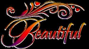 Words by ilenush on. Beautiful clipart pretty word