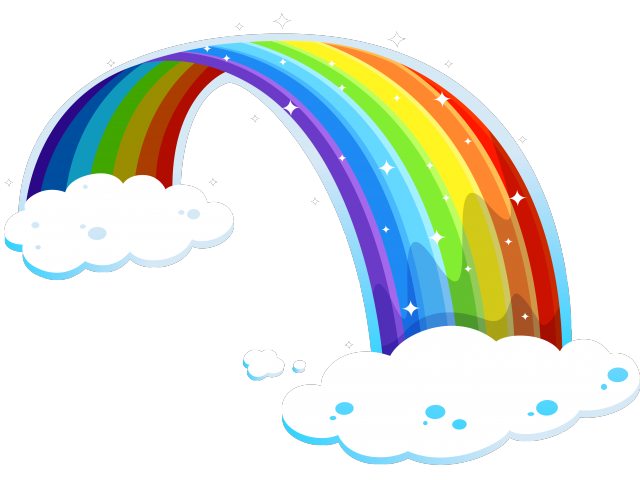 Flower free on dumielauxepices. Beautiful clipart rainbow