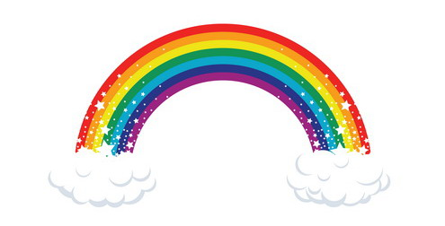 Annies home national find. Heat clipart rainbow