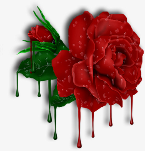 Bright red roses png. Beautiful clipart rose
