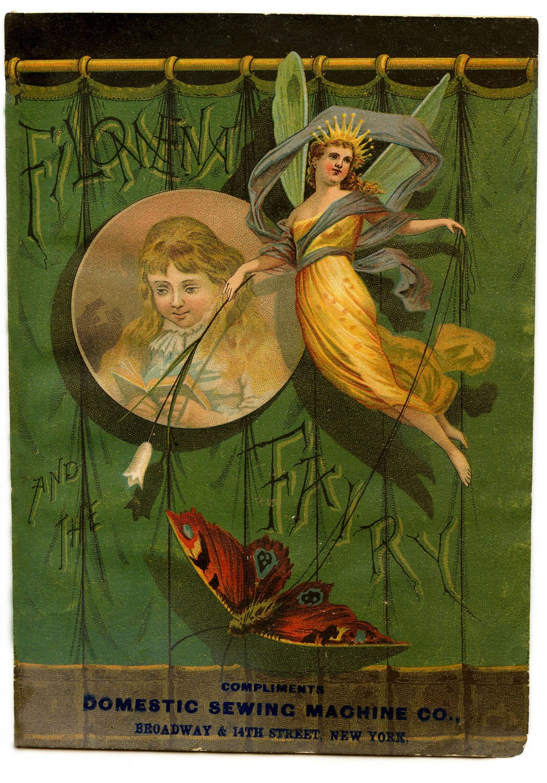 Vintage clip art fairy. Beautiful clipart sash
