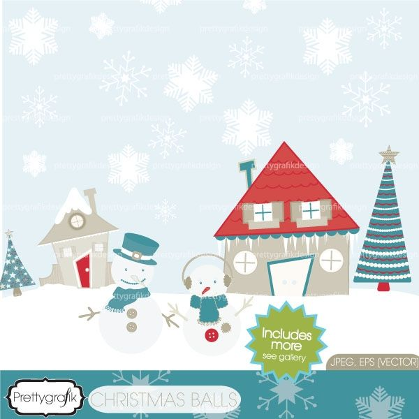 Download holiday christmas including. Beautiful clipart scene