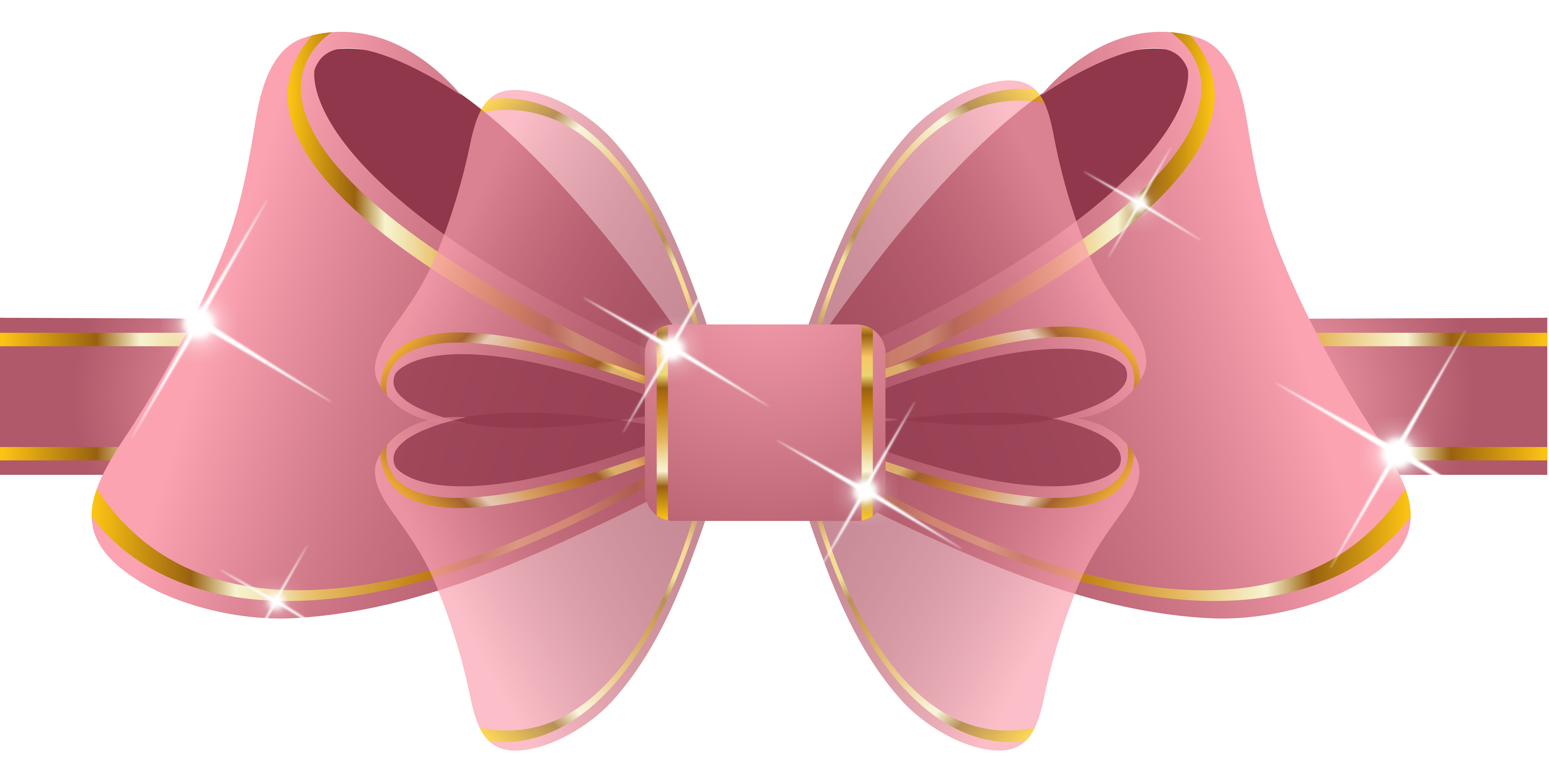 Beautiful pink ribbon png. Clipart butterfly happy birthday