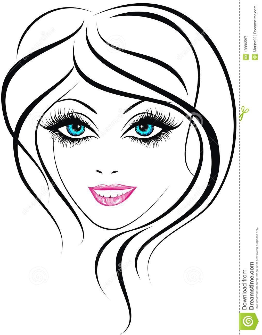Pinart shopping girl beauty. Beautiful clipart vector