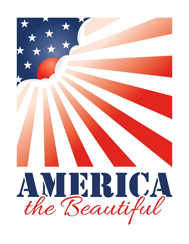Beautiful clipart vector. America the clip art