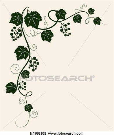 Beautiful clipart vine. Grape clip art vines