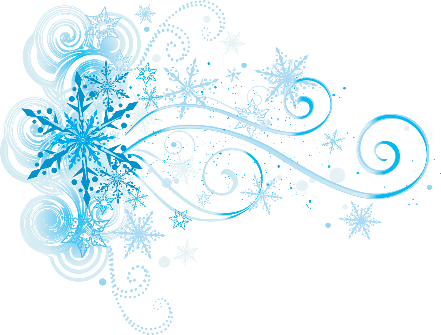 Beautiful clipart winter.  collection of snowflake