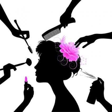 Beauty clipart. Hair and ed e