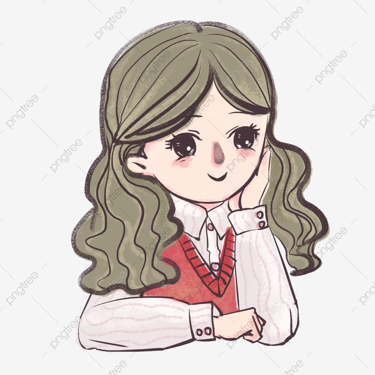 Beauty clipart beautiful lady. Japanese comics comic girl