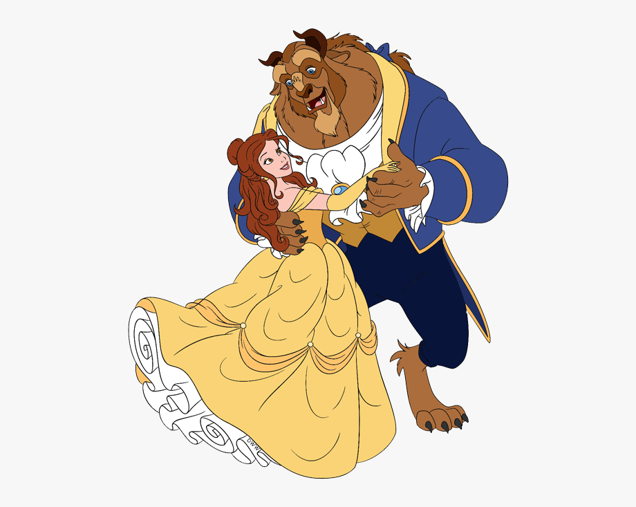 Belle dancing . Beauty clipart beauty and the beast