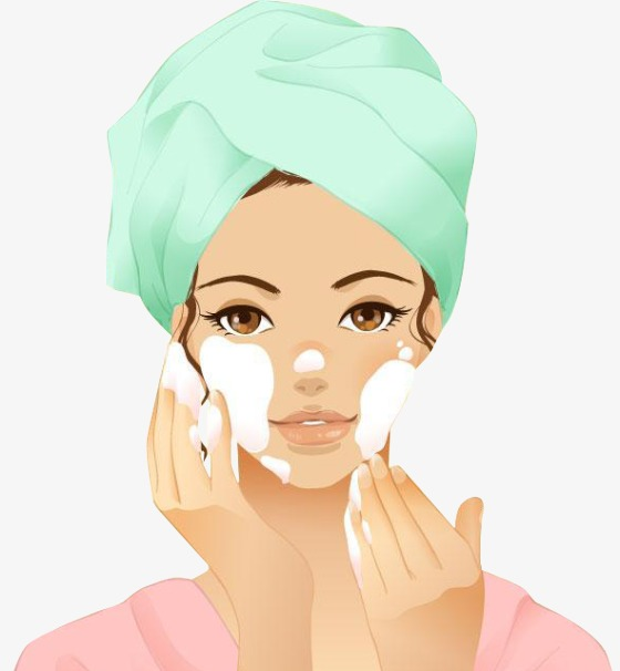 Beauty clipart beauty care. Do cartoon skin png