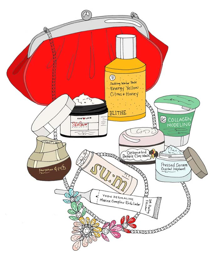genius new skincare. Beauty clipart beauty care