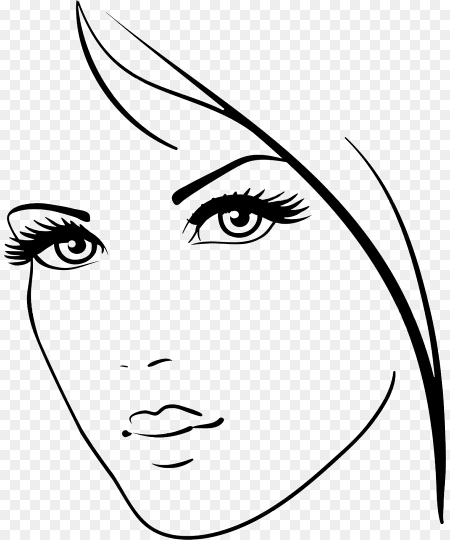 Royalty free drawing clip. Beauty clipart beauty face