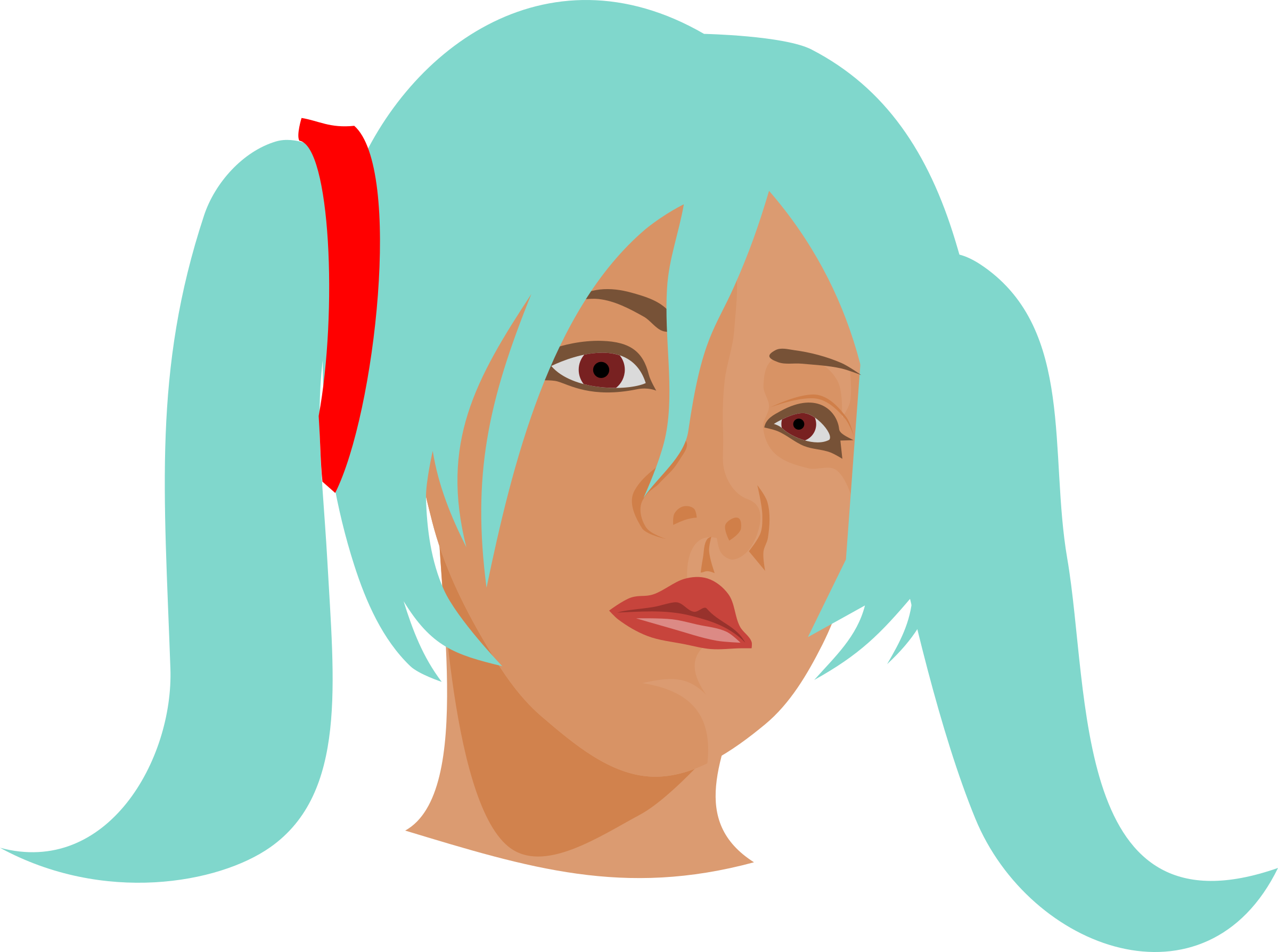 Beauty clipart beauty face. No cosplay big image