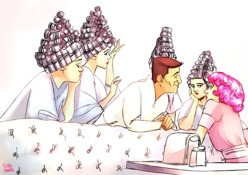 Dropout grease tumblr. Beauty clipart beauty school