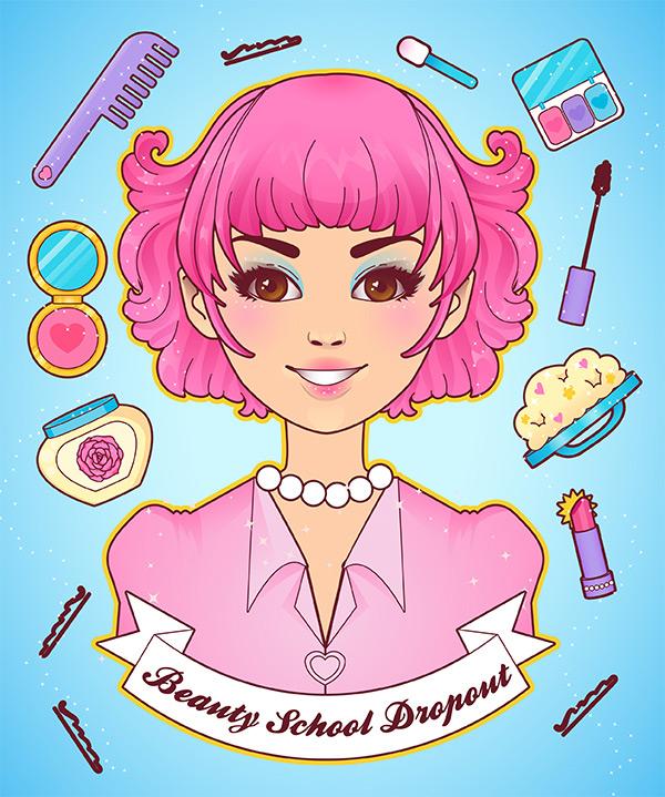 Beauty clipart beauty school. How to create a