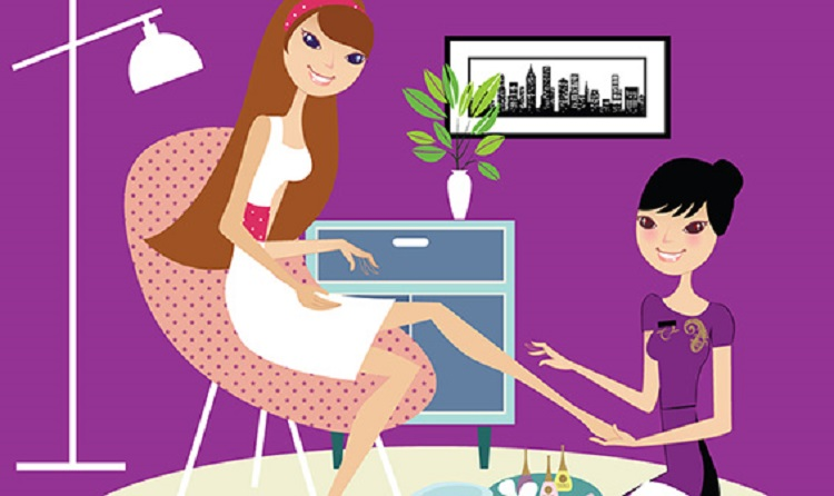 Beauty clipart beauty service. Advantages of at home