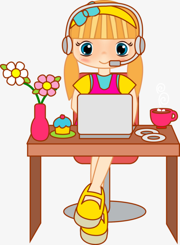 Beauty clipart beauty service. Computer animation hand painted