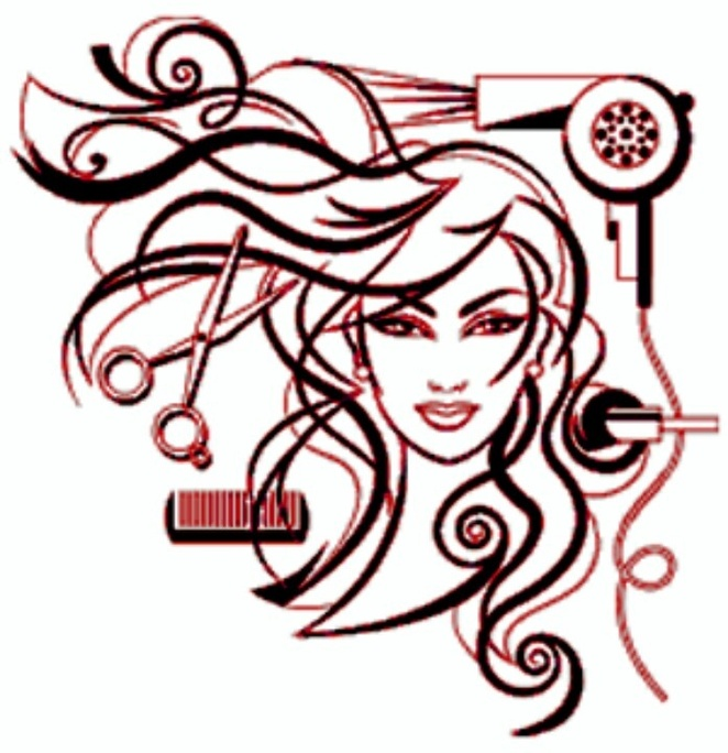 Free beauty cliparts download. Hairdresser clipart cosmetology school