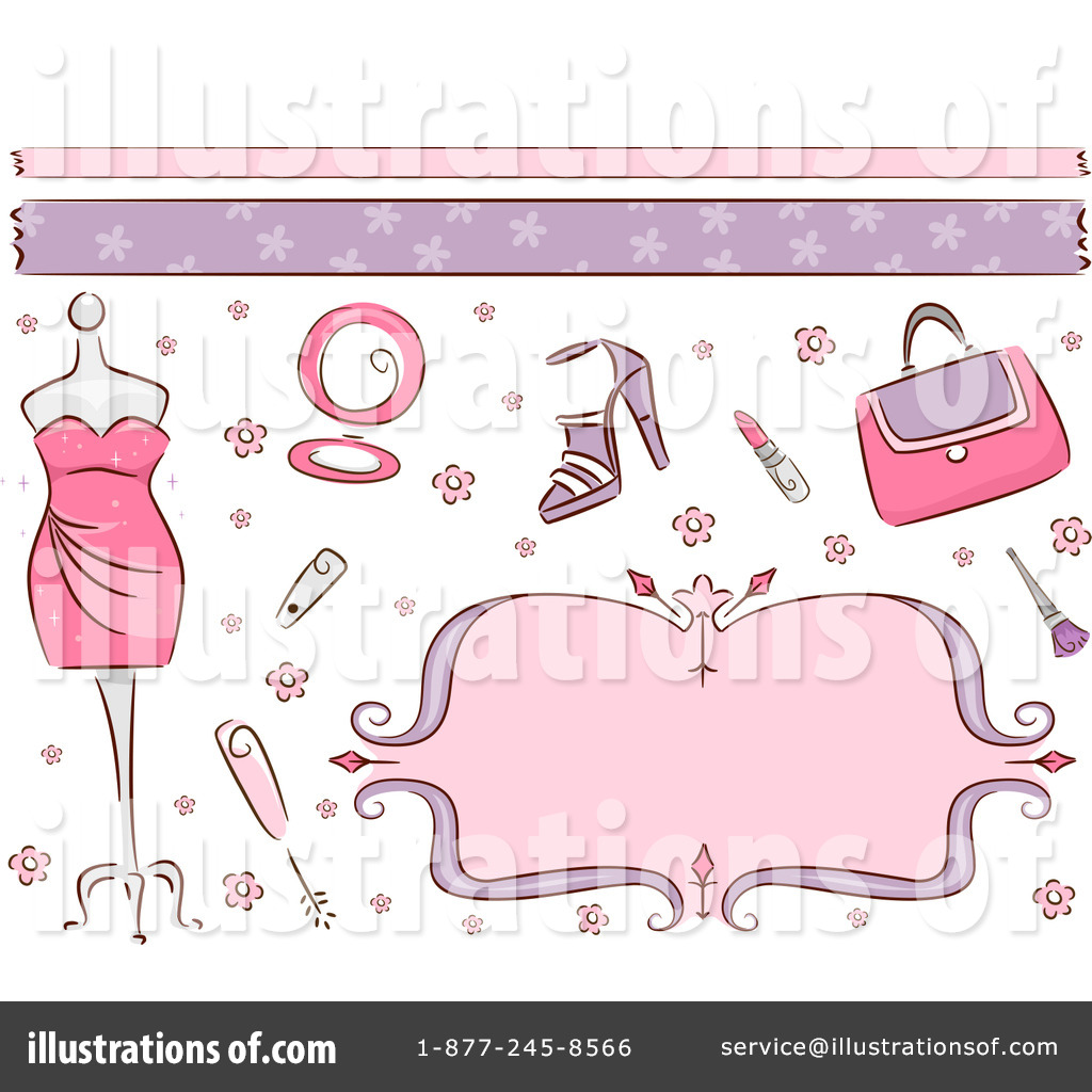 Beauty clipart feminine. Illustration by bnp design